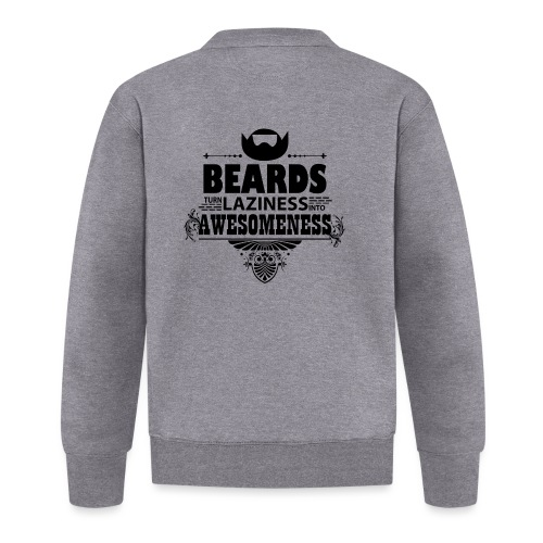 beards_laziness_awesomeness 10x - Unisex baseball-takki