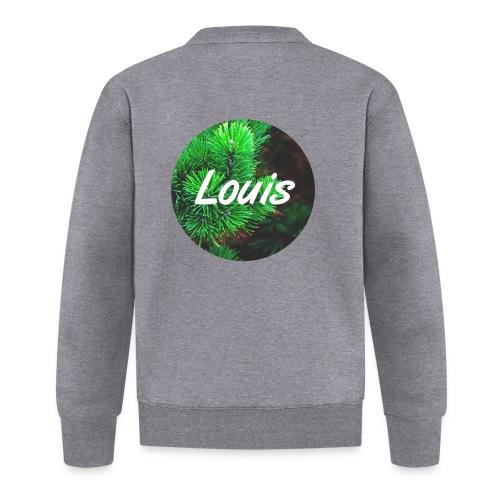 Louis round-logo - Baseball Jacke