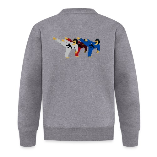 8 bit trip ninjas 2 - Unisex Baseball Jacket