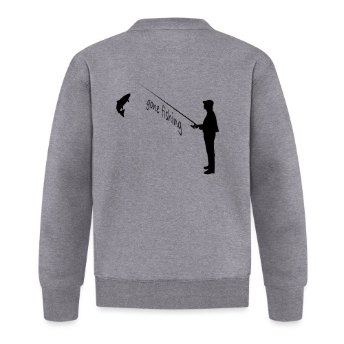 Angler gone-fishing - Unisex Baseball Jacke