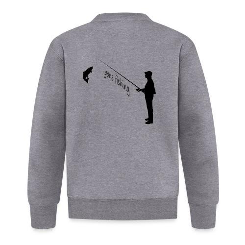gone-fishing - Baseball Jacke