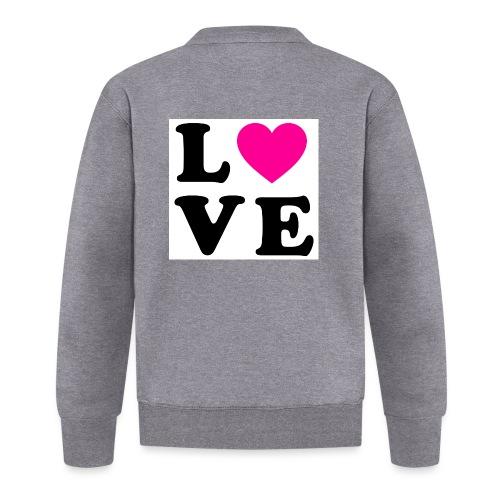 Love t-shirt - Veste zippée