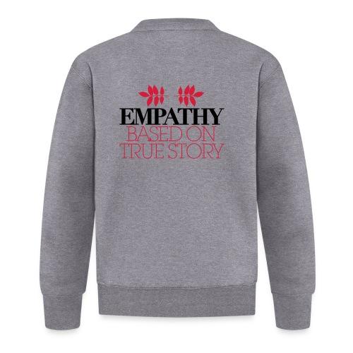 empathy story - Kurtka bejsbolowa unisex