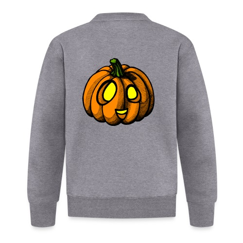 Pumpkin Halloween scribblesirii - Baseball Jacket