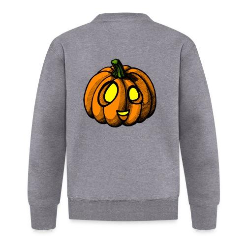 Pumpkin Halloween scribblesirii - Unisex Baseball Jacke