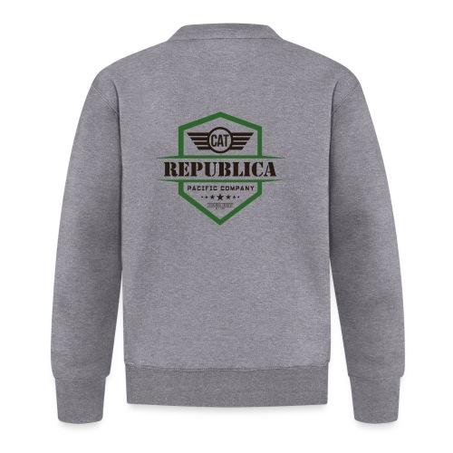 REPUBLICA CATALANA color - Chaqueta de béisbol