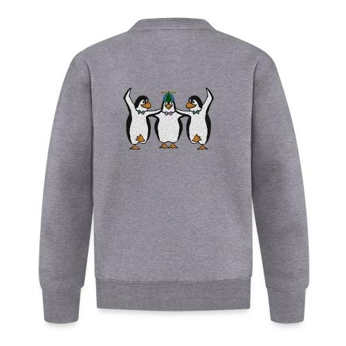 Penguin Trio - Baseball Jacket