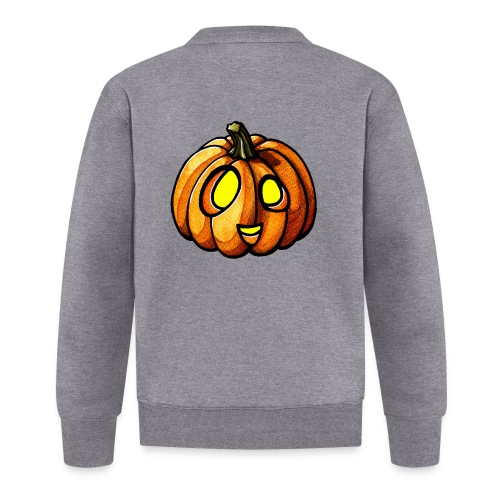 Pumpkin Halloween watercolor scribblesirii - Baseball-takki