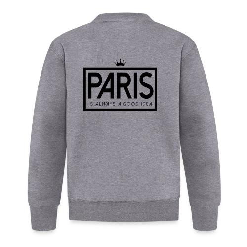 PARIS, FRANCE - Baseball Jacket