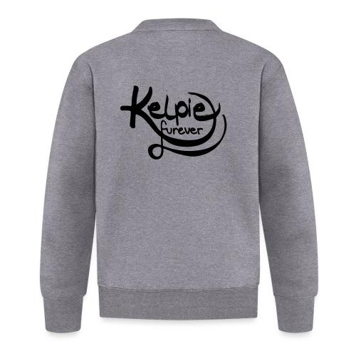 Kelpie furever - Baseball Jacke