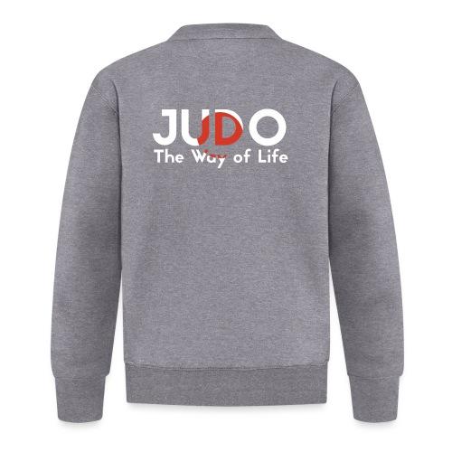 judo the way of life - Kurtka bejsbolowa unisex