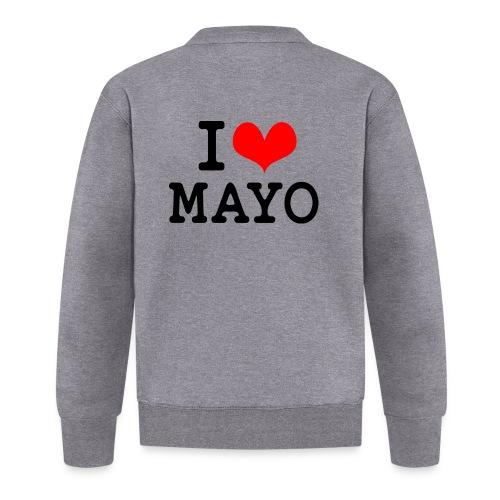 I Love Mayo - Baseball Jacket