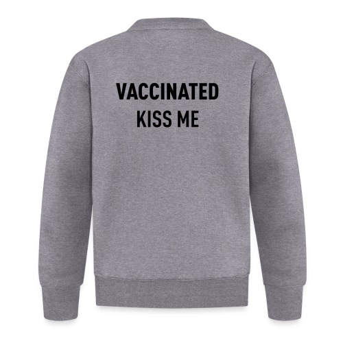 Vaccinated Kiss me - Unisex Baseball Jacket
