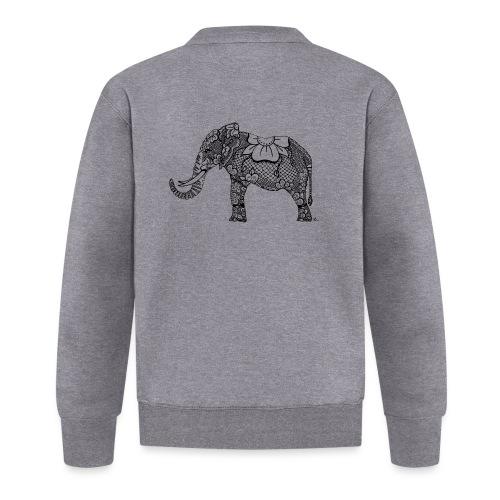Éléphant oriental - Veste zippée Unisexe
