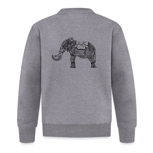 Éléphant oriental - Veste zippée