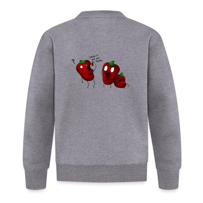 What we are tasty Erdbeeren