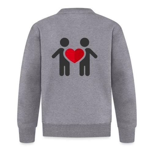 Chemise amour - Veste zippée