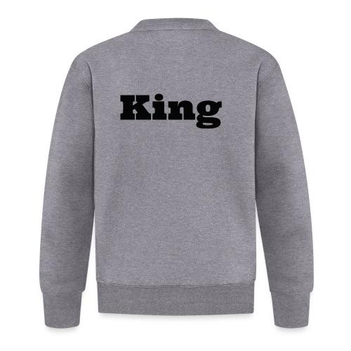 Snapback king rood/zwart - Baseballjack