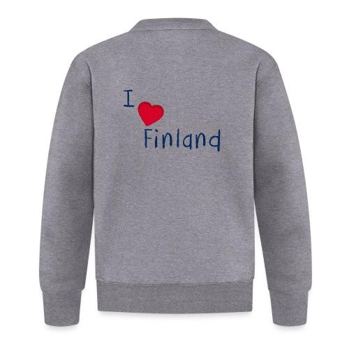 I Love Finland - Baseball-takki