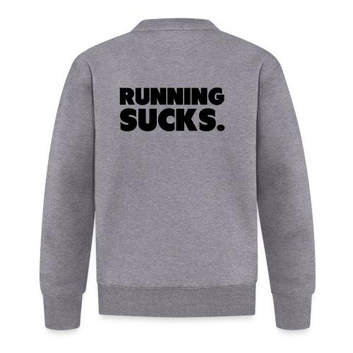 Running Sucks - Unisex baseball-takki