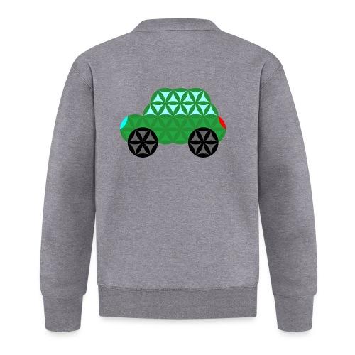 The Car Of Life - M02, Sacred Shapes, Green/363 - Unisex Baseball Jacket