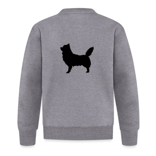 Chihuahua pitkakarva musta - Baseball-takki