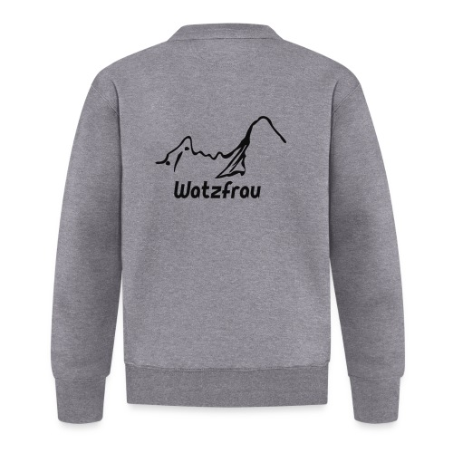 Watzfrau - Baseball Jacke