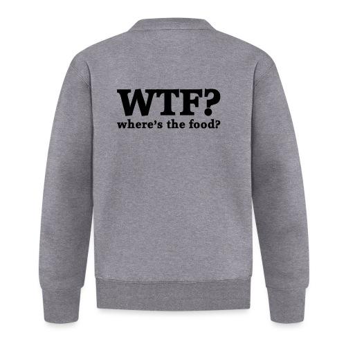 WTF - Where's the food? - Unisex  baseballjack