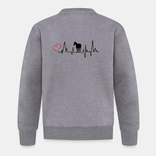 Heartbeat Quarter Horse - Baseball Jacke
