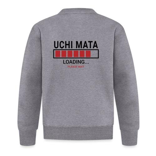 Uchi Mata loading... pleas wait - Kurtka bejsbolowa unisex