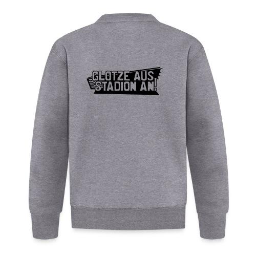 GLOTZE AUS, STADION AN! - Baseball Jacke