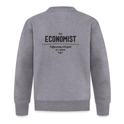Bester Ökonom - wie ein Superheld - Baseball Jacke