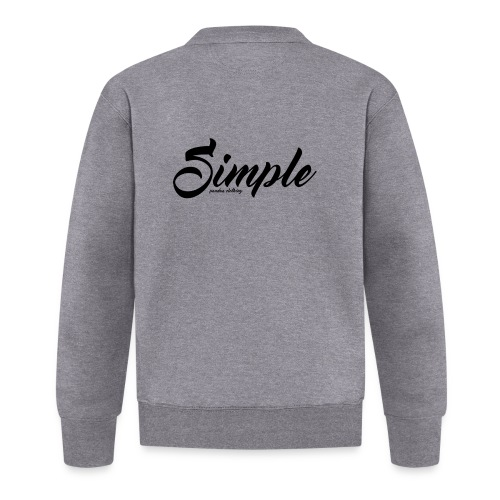 Simple: Clothing Design - Baseball Jacket