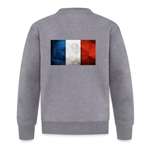 France Flag - Unisex Baseball Jacket