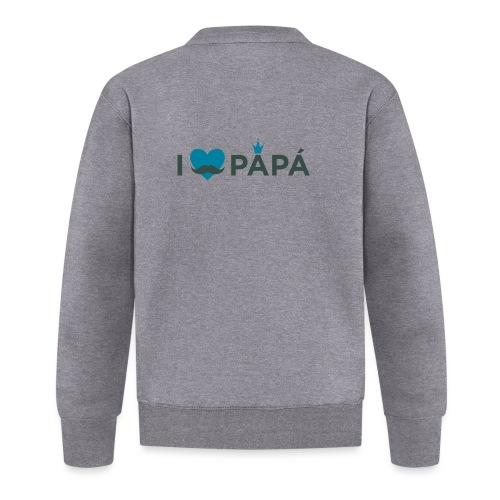 ik hoe van je papa - Veste zippée Unisexe