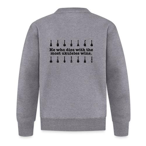 ukulele_wins - Unisex Baseball Jacket