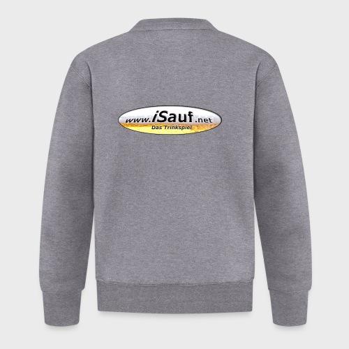 iSauf Logo - Baseball Jacke