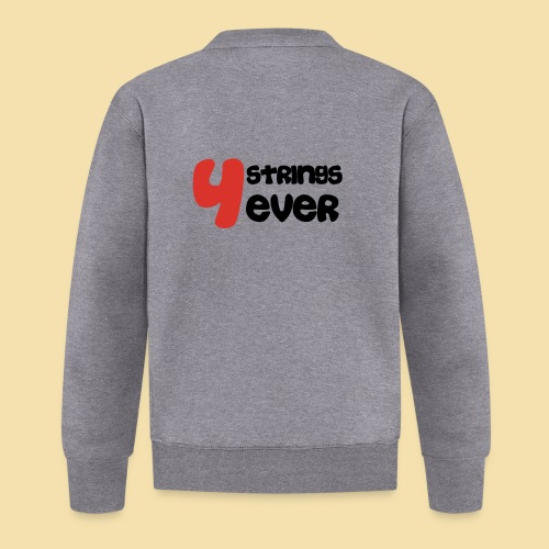 4 Strings 4 ever - Baseball Jacke