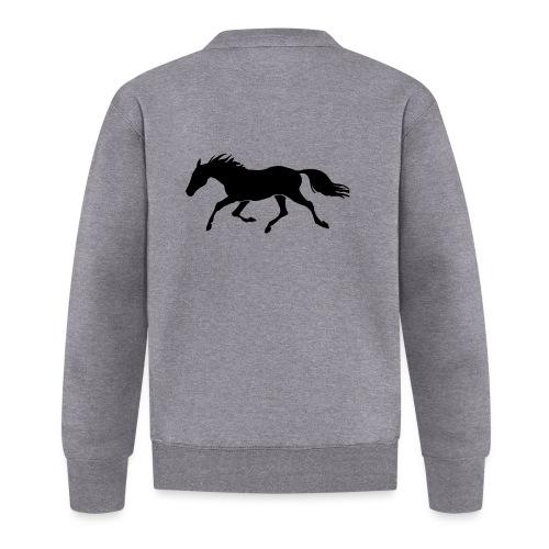 Cavallo - Felpa da baseball unisex