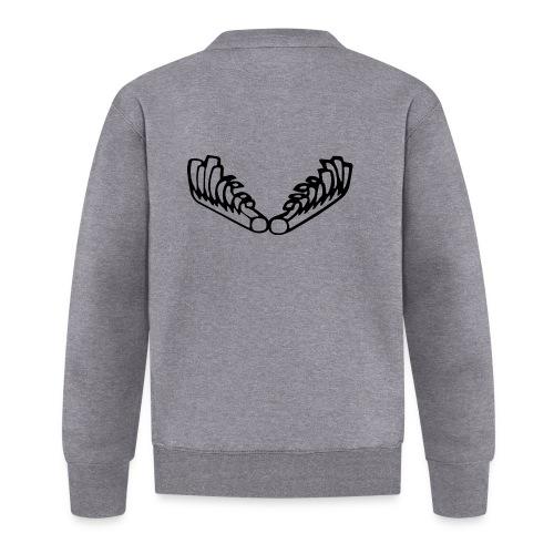Kiehiset_logo-musta - Unisex baseball-takki