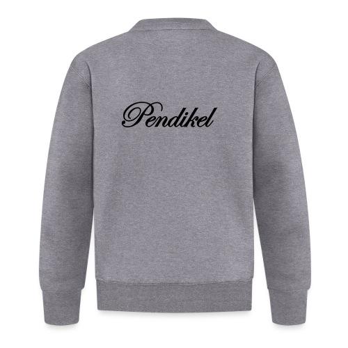 Pendikel Schriftzug (offiziell) Buttons & - Baseball Jacke