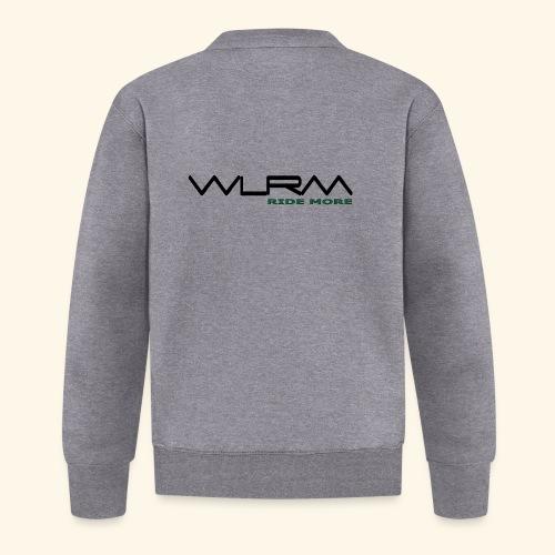 WLRM Schriftzug black png - Unisex Baseball Jacke