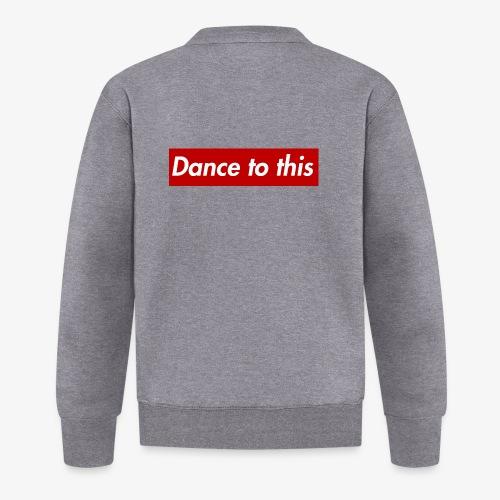 Dance to this - Baseball Jacke