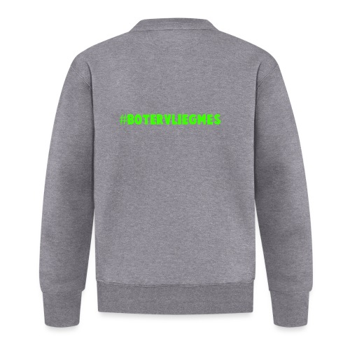 Botervliegmes T-shirt (kids) - Unisex  baseballjack