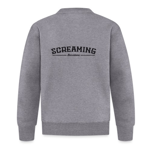 SCREAMING GIRL - Chaqueta de béisbol