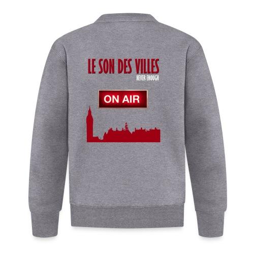 Le Son Des Villes : On Air - Veste zippée Unisexe