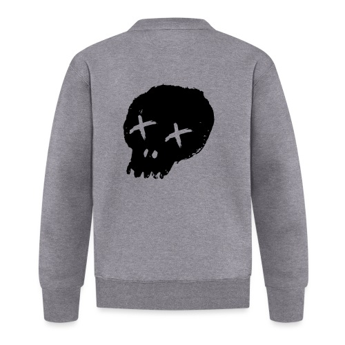 blackskulllogo png - Baseball Jacket