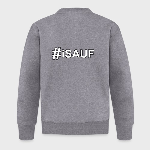 Hashtag iSauf - Baseball Jacke