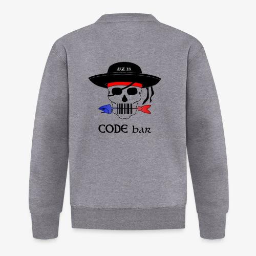 Code Bar couleur - Veste zippée Unisexe