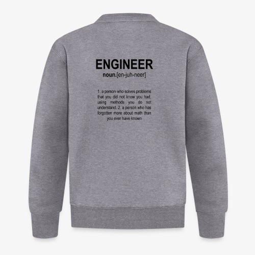 Engineer Def. 2 Black - Veste zippée